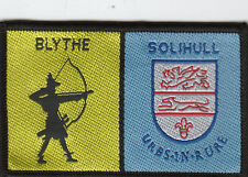 Boy Scout Double Badge BLYTHE DISTRICT/SOLIHULL 2011 Iss