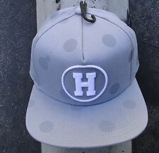 The Hundreds Skate Circle H Gray Snapback Hat Cap HTHD-56
