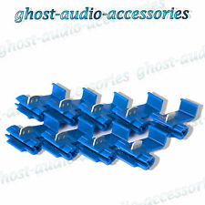 12x Blue Scotchlocks / Scotchlock Terminal Fitting Connectors to Splice