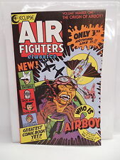 Air Fighters Classics Eclipse Comic Book Airboy Origin Skywolf Iron Ace