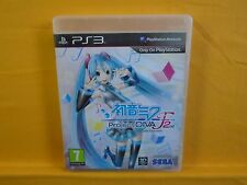 Ps3 Hatsune Miku Project Diva F 2nd Playstation PAL Reino Unido versión en inglés
