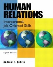 G, Human Relations: Interpersonal, Job-Oriented Skills, Eighth Edition, DuBrin,