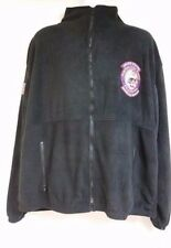 USMS Marshals Service Philadelphia Fugitive TF Black Full Zipper Fleece Size 2XL