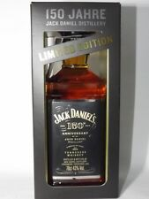Whiskey Jack Daniels Daniel 's 43% vol. 700 ML 150th Anniversary 0,7 L BOX