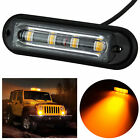 4LED Amber Strobe Flashing Light Lamp Blub Recovery Lightbar Beacon Truck Van