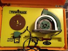 Vintage Ideal Power Mite Power Tool Toy Circular Saw