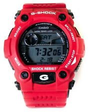 AWESOME RED CASIO G SHOCK G-7900A MENS WRIST WATCH GREAT CONDITION