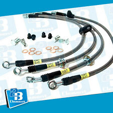 StopTech Front Brake Lines Fit For 1990 - 2001 Acura Integra 93 - 95 Honda Civic