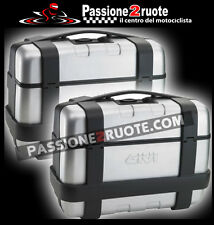 pair suitcases trunks side Monokey Givi Trk33n Trekker 33lt moto side bags