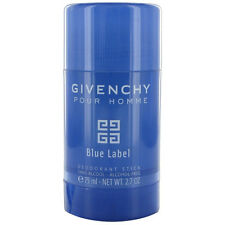 Blue Label By Givenchy Pour Homme Men Alcohol Free Deodorant Stick  2.7 oz New