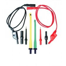 Power Probe Deluxe Multimeter Test Lead Kit, Standard 4mm plugs & jacks #PPLS03