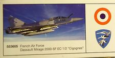 "Herpa 1:200  French Air Force Dassault Mirage 2000C  ""Tiger Meet 2006"" -  553520"