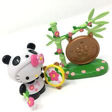Hello Kitty Sanrio Bandai Dream World Happy Forest Panda Playset Rare NWOB