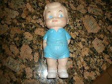 1962 Squeaky Boy Doll Toy Arrow Rubber & Plastic - Edward Mobley RARE