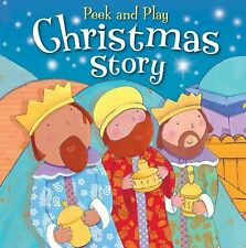 Peek and Play Christmas Story by Christina Goodings (2013, Board Book)