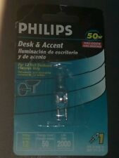 desk and accent 50w halogen capsule PHILIPS (lot of 19)