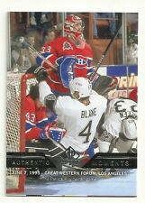 """2013-14 SP Authentic  Authentic Moments 163 Patrick Roy  6/7/93 The """"Wink"""" Game"""