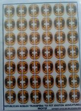 15mm repubican roman shield designs to fit xyston miniatures rr(xy)2 by LBMS