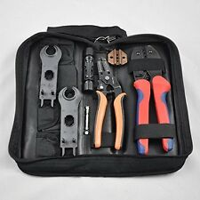 Solar Connectors Mc4 Mc3 Crimping Stripping Cutting Function Tool Kit -LY-2546B