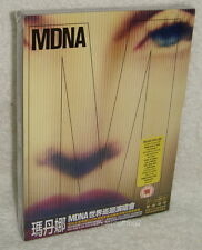 Madonna MDNA World Tour Deluxe Edition Taiwan Ltd DVD+2-CD