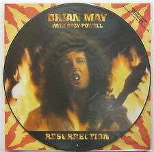 "BRIAN MAY With COZY POWELL Resurrection 1993 UK Only 12"" PICTURE DISC Queen MINT"