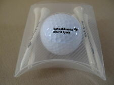 Bank of America/Merrill Lynch golf ball and tees