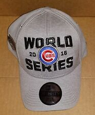 Chicago Cubs Locker Room World Series baseball Flex Hat Cap 2016 NL Champions