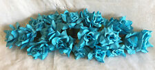 MALIBU BLUE  SWAG ~ Silk Wedding Flowers Roses Arch Gazebo Decor Centerpieces