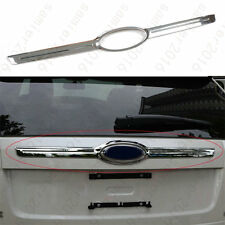 Chrome Back Rear Hatch Tailgate Cover Bezel bar Trim Fit For Ford Edge 2007-2013