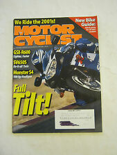 January 2001  Motorcyclist Magazine, GSX-R600, SV650S (BD-19)