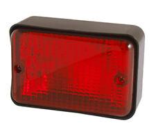 Universal Red Rear Fog Lamp Light Landrover Defender Series Kit Car Trailer