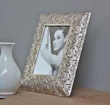 BILDERRAHMEN Metall silber Oriental antik Rahmen Fotorahmen Standrahmen NEU