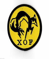 Metal Gear Solid V XOF - Iron on or Sew on Badge Patch - Phantom Pain 5