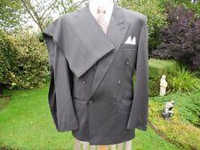 """Vintage 1940's Men's Style Grey Suit - 38"""" chest 30"""" waist - Good Condition"""