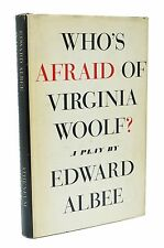 Who's Afraid of Virginia Woolf First Edition Edward Albee 1st Printing 1962 Book