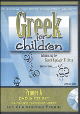 Classical Academic - Greek for Children Primer A DVD & CD Set