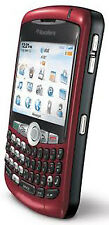 New BlackBerry Unlocked Curve AT&T Mobile Red WIFI Smartphone