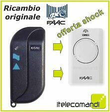 RADIOCOMANDO TELECOMANDO ORIGINALE FAAC TML2 868 MHZ