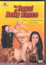 The Royal OF Bellydance: watch 5 Arabic Dancers best belly dance ~NTSC Movie DVD