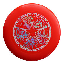 Discraft UltraStar 175g Ultimate Frisbee Sport Disc - BRIGHT RED