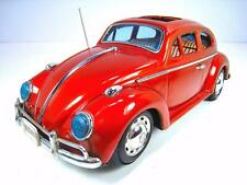 """BANDAI Tin Battery Operated 1964 VW Type I Sunroof Bug 15"""" Excellent Condition"""