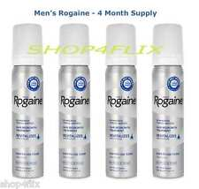 4-month Supply - Rogaine Hair Regrowth for Men 5% Minoxidil Topical Foam