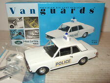 New Vanguards VA04101 Lotus Cortina Mk11 Hants Constabulary in 1:43 Scale.