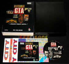 GTA GRAND THEFT AUTO 1 Pc Versione Italiana Big Box ••••• COMPLETO