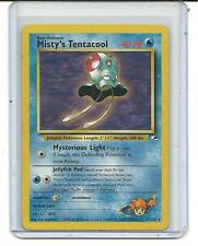 Misty`s Tentacool - Non Holo Rare - Pokemon - Gym Heroes - 32/132