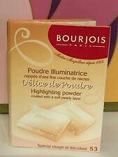 BOURJOIS 'Delice de Poudre' Highlighting Powder #53  16.5g 100%Genuine