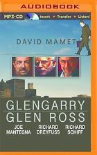 Glengary Glen Ross by David Mamet (2016, MP3 CD, Unabridged)