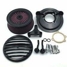 Black Grille Air Cleaner Kit For Harley 2007-2017 Nightster SuperLow XL883L XL