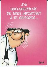 """CPM - Carte postale - Les BIDOCHON """" j'ais quelquechose de trés important ....."""""""