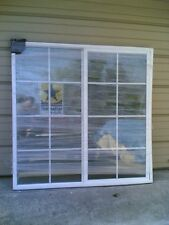BRAND NEW:  Big White VINYL House SLIDER WINDOW with Grids 60x60